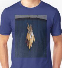 Dried Corn Ears on a Door T-Shirt