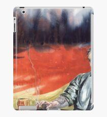 true detective, Rast Cole, mysticism, fire, crime iPad Case/Skin