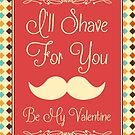 I'll Shave For You - BBC Sherlock Johnlock Valentine by scarletprophesy