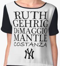 Costanza - Yankees Women's Chiffon Top