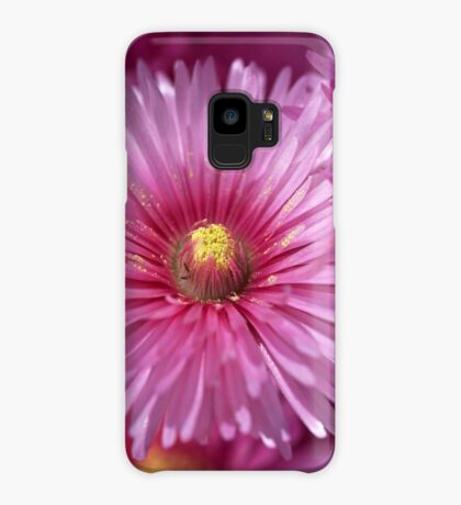 Pink Pigface Flowers Case/Skin for Samsung Galaxy