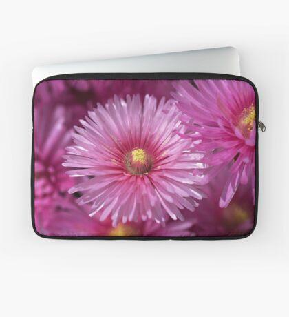 Pink Pigface Flowers Laptop Sleeve