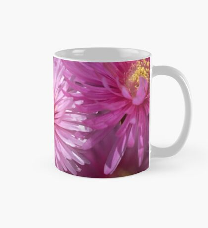Pink Pigface Flowers Mug