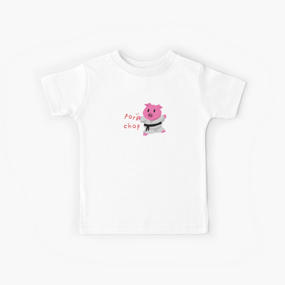 Schweinekotelett Kinder T-Shirt
