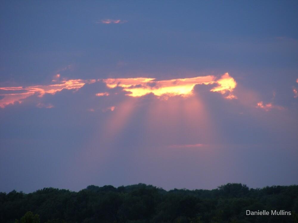 peaking sky by Danielle Mullins