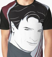 Nathan Fillion is Captain Hammer Graphic T-Shirt