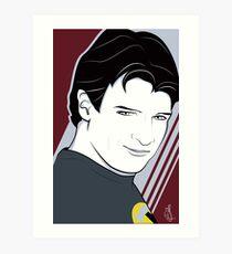 Nathan Fillion is Captain Hammer Art Print