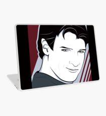 Nathan Fillion is Captain Hammer Laptop Skin