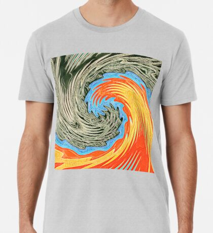 Abstract Wave Premium T-Shirt