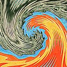 Abstract Wave by blackhalt