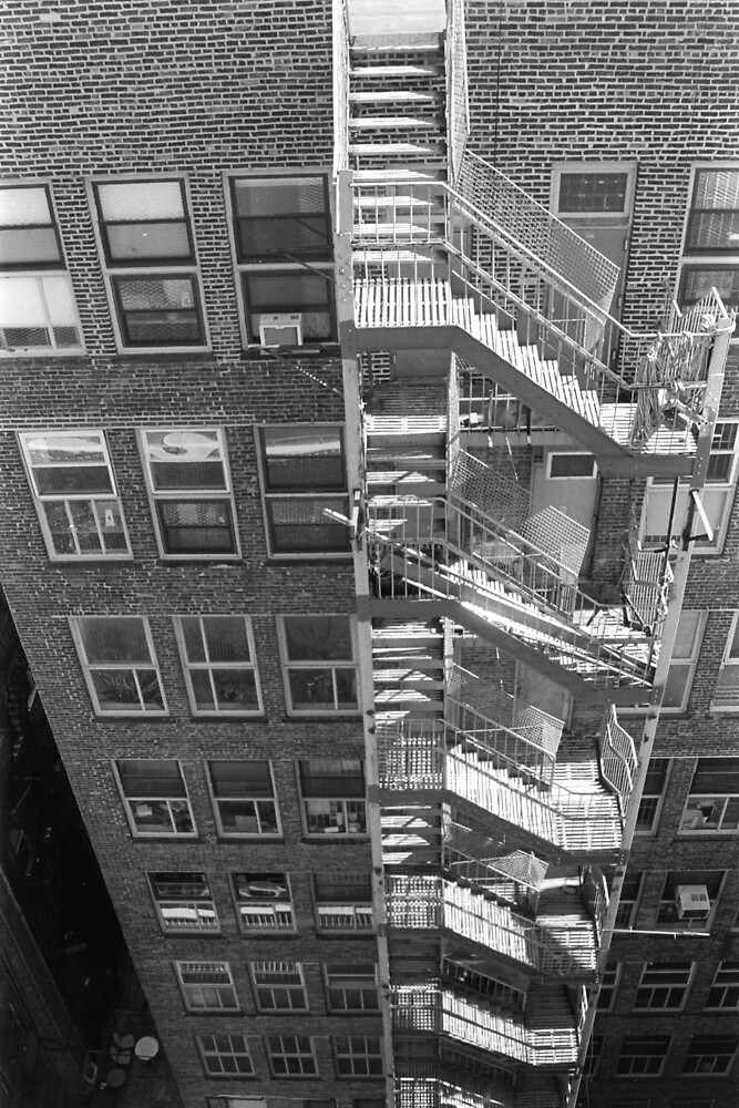 Stairs, New York, NY by Andrew Skinner