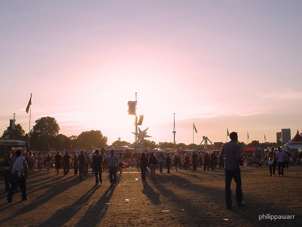 O2 Sunset by philippawarr