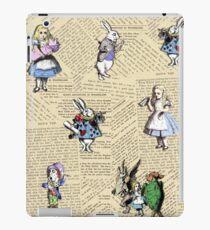 Alice im Wunderland iPad-Hülle & Klebefolie