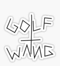 GOLF WANG ANTI-CHRIST APPARELL Sticker