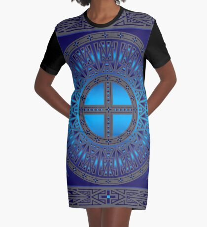 The Ancestors (Dragonfly) Graphic T-Shirt Dress