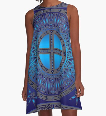 The Ancestors (Dragonfly) A-Line Dress
