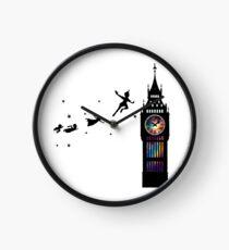 Peter Pan The Second Star Clock