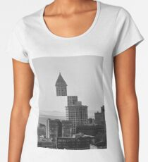 Smith Tower, Seattle Women's Premium T-Shirt