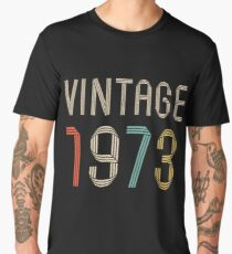 1973 44 years old birthday  Men's Premium T-Shirt