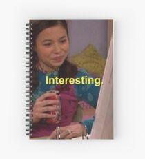 "Cuaderno de espiral MEGAN ""INTERESANTE"" MEME (DRAKE & JOSH)"