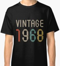 1968 49 years old birthday  Classic T-Shirt