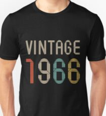 1966 51 years old birthday  T-Shirt