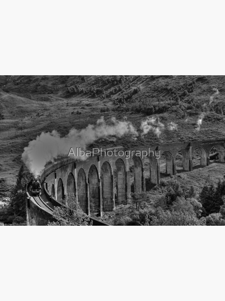 The Jacobite Steam Train. by AlbaPhotography