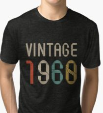 1960 57 years old birthday  Tri-blend T-Shirt