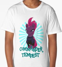 commander tempest Long T-Shirt