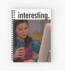 "Cuaderno de espiral MEGAN ""INTERESANTE"" MEME (DRAKE & JOSH)!"