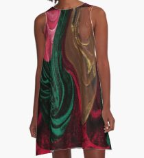 3D Yamborghini H A-Line Dress