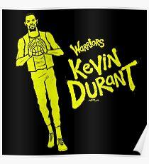 KD - Warriors Poster