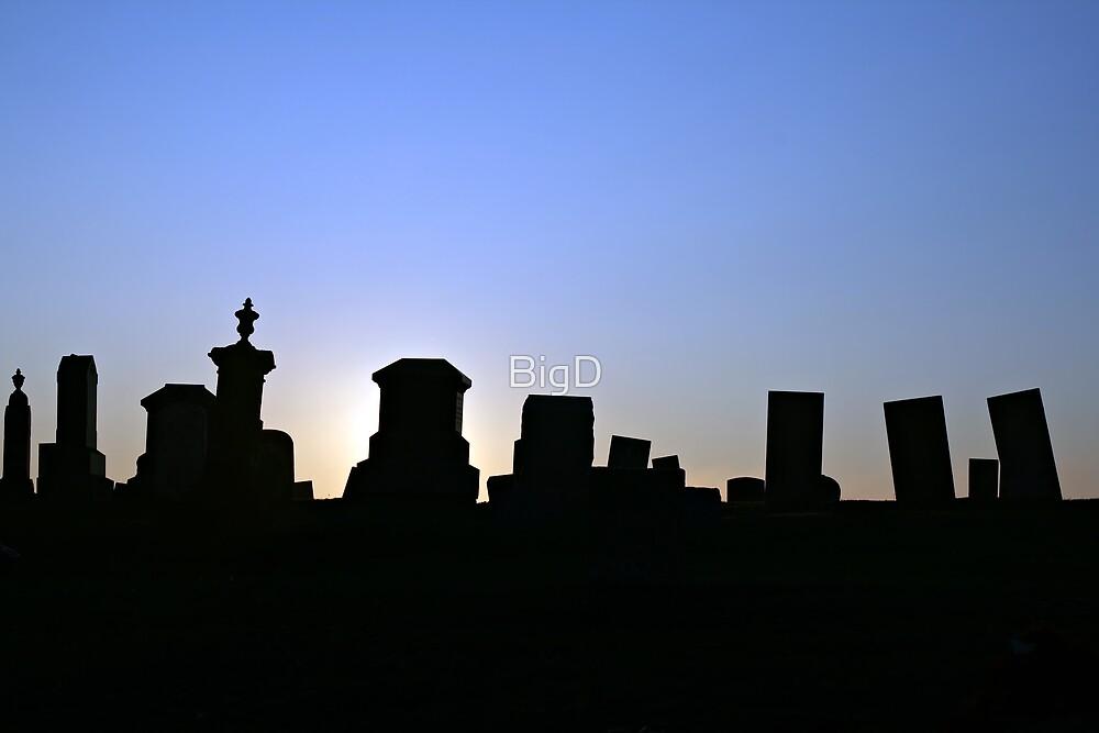 Graveyard Stones by BigD