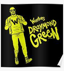 Green - Warriors Poster