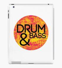 Drum & Bass (fire) iPad Case/Skin