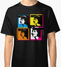 SYLVIA PLATH - WARHOL-STYLE 4-UP COLLAGE ILLUSTRATION Classic T-Shirt