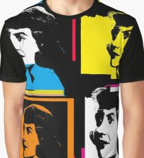 SYLVIA PLATH - WARHOL-STYLE 4-UP COLLAGE ILLUSTRATION Graphic T-Shirt