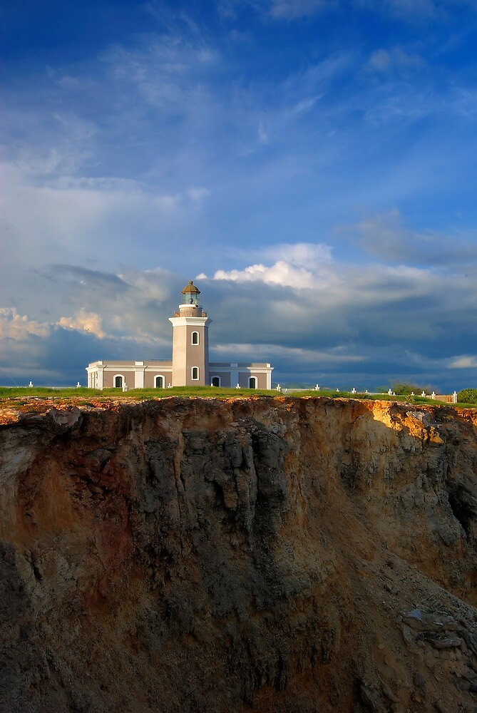 Cabo Rojo Lighthouse View 02 by lightboxfactory
