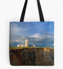Cabo Rojo Lighthouse View 02 Tote Bag