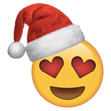 Christmas Hat Love Face by cherrypiez