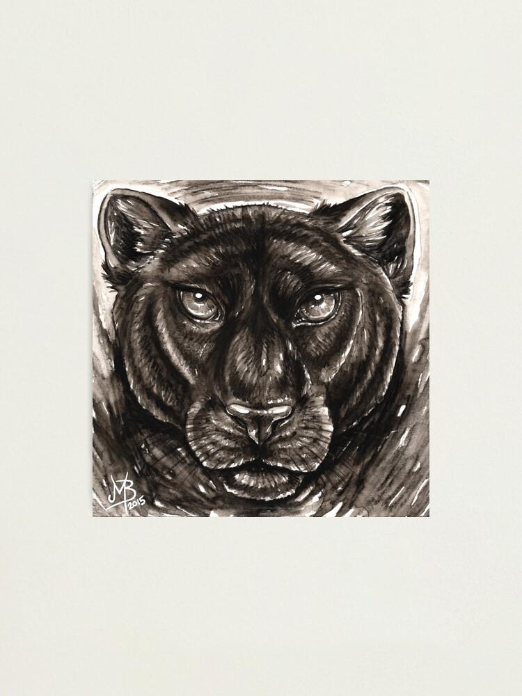 Alternate view of Panthera Photographic Print