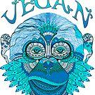 Vegan Monkey by veganvictor