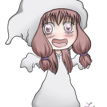 Chibi Ghost  by LailaBuro