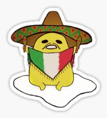 Gudetama x Mexico Sticker