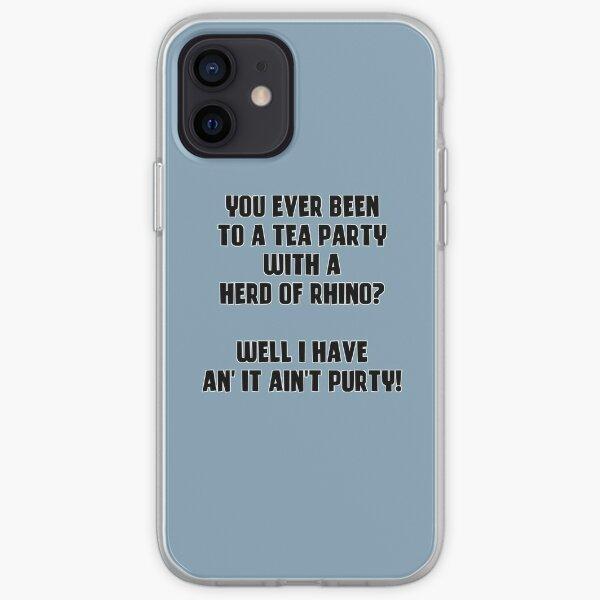 Herd of Rhino - Kodiak Jack iPhone Soft Case