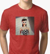 Vintage Retro Doll Tri-blend T-Shirt