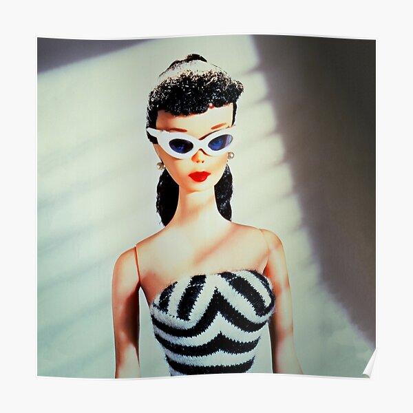 Vintage Retro Doll Poster
