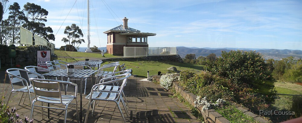 Mt Nelson Signal Station by Paul Coussa