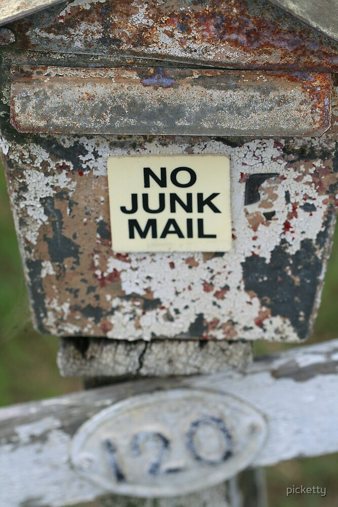 no junk for junk by picketty