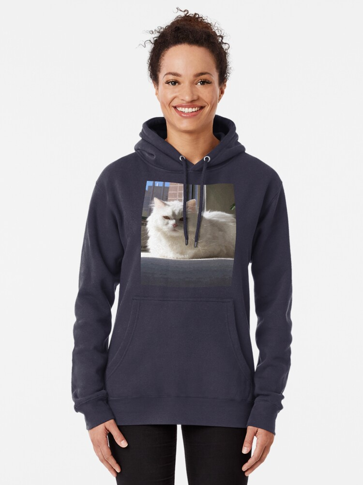 Alternate view of Cat In The House Pullover Hoodie